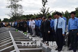 Truy điệu, cải táng 85 hài cốt liệt sỹ, quân tình nguyện Việt Nam hy sinh tại Campuchia