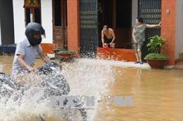 Hơn 2.500 hộ dân ở thành phố Yên Bái bị ảnh hưởng do mưa lớn