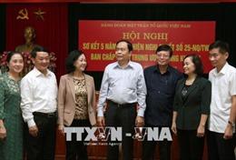 Góp phần củng cố vững chắc lòng tin của nhân dân đối với Đảng