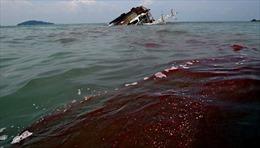 Tàu chở hàng trăm nghìn lít dầu bị tràn dầu ra biển tại Thụy Điển