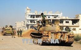 Quân đội Syria tăng cường tấn công truy quét IS