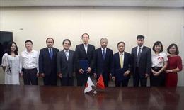 Việt Nam - Nhật Bản ký ghi nhớ về tiếp nhận thực tập sinh ngành hộ lý
