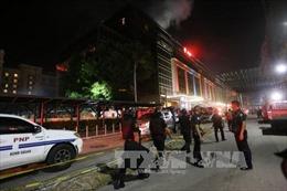 Hai kẻ khủng bố tình nghi mang bom tự chế bị lực lượng an ninh Philippines bắn hạ