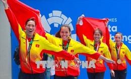 Tự hào các cô gái Vàng Rowing Việt Nam