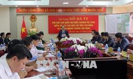 Phó Chủ tịch Quốc hội Đỗ Bá Tỵ giám sát thực hiện Dự án đường Trường Sơn Đông
