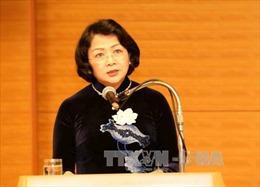 Phó Chủ tịch nước Đặng Thị Ngọc Thịnh dự Đại hội thi đua yêu nước tỉnh Lai Châu