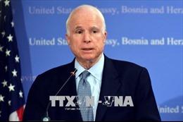 Tổng thống Mỹ bày tỏ lòng tôn trọng Thượng nghị sĩ John McCain