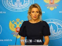 Nga chỉ trích các lệnh trừng phạt của Mỹ làm tổn hại đối thoại hai nước