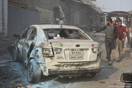 Đánh bom xe liều chết ở Iraq, 20 người thương vong