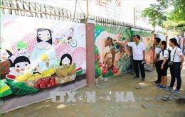 Khánh thành con đường bích họa 'Bừng sáng cuộc sống' tại Đà Nẵng
