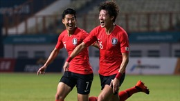 ASIAD 2018: Hàn Quốc bảo vệ thành công HCV bóng đá nam
