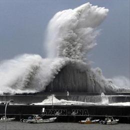 Siêu bão Jebi 'càn quét' khiến nhiều người Nhật Bản thương vong