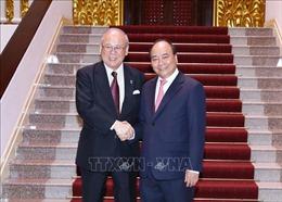 Thủ tướng tiếp Cố vấn Liên minh Nghị sỹ Hữu nghị Nhật - Việt