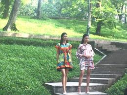 Trình diễn thời trang tại Công viên Bách thảo, Hà Nội