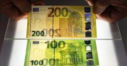ECB phát hành tờ 100 và 200 euro mới với tính bảo mật cao hơn