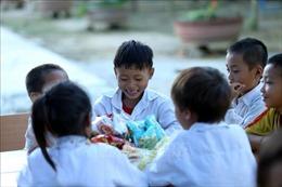 Đón Trung thu nơi vùng biên giới Hẹ Muông, Điện Biên