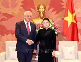 Chủ tịch Quốc hội Nguyễn Thị Kim Ngân tiếp Chủ tịch Thượng viện Cộng hòa Belarus