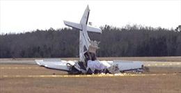 Máy bay quân sự Nigeria gặp nạn khi diễn tập