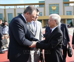 Tổng Bí thư Nguyễn Phú Trọng kết thúc tốt đẹp chuyến thăm Nga và Hungary