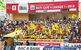 V.League 2018: Sân Vinh mở cửa miễn phí tri ân người hâm mộ tại vòng đấu cuối