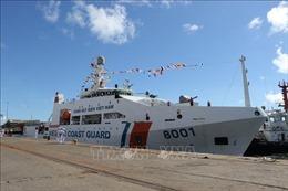 Lần đầu tiên lực lượng bảo vệ biển Việt Nam - Ấn Độ diễn tập chung ở vịnh Bengal