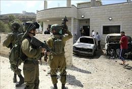 Israel tăng cường lực lượng sau vụ nổ làm 3 người thương vong tại khu Bờ Tây