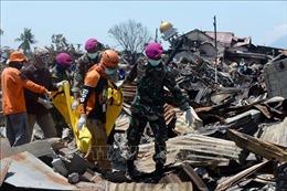 Indonesia tăng tốc tìm kiếm thi thể nạn nhân động đất, sóng thần