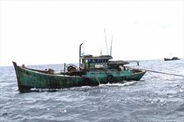 Phát hiện 9 tàu cá vi phạm hành lang an toàn đường ống dẫn khí