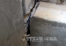 Hà Tĩnh: Hàng chục nhà dân bị nứt tường do thi công nâng cấp, mở rộng Quốc lộ 15 B