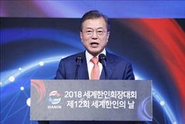 Cuộc gặp thượng đỉnh Pháp - Hàn Quốc bàn luận sâu rộng hàng loạt vấn đề 'nóng'
