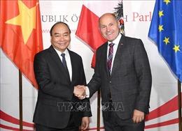 Thủ tướng Nguyễn Xuân Phúc hội kiến Chủ tịch Quốc hội Áo Wolfgang Sobotka