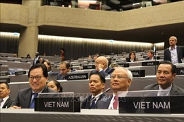 Việt Nam cam kết cùng IPU thúc đẩy vai trò của quốc hội trong củng cố hòa bình và phát triển bền vững