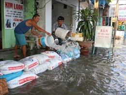 Mực nước sông Sài Gòn tiếp tục lên, triều cường có khả năng đạt mức cao nhất trong tuần tới