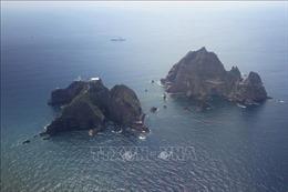 Nhóm nghị sĩ Hàn Quốc thăm quần đảo tranh chấp với Nhật Bản