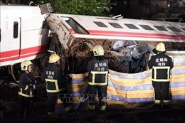 Đài Loan điều tra vụ tai nạn tàu hỏa thảm khốc khiến trên 100 người thương vong