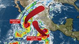 Siêu bão Willa đã mạnh lên mức cao nhất, dự kiến đổ bộ vùng duyên hải phía Tây Nam Mexico
