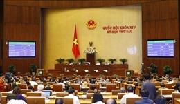 Kỳ họp thứ 6, Quốc hội khóa XIV: Thông cáo báo chí số 3