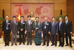 Phó Chủ tịch Quốc hội Tòng Thị Phóng tiếp Đoàn chuyên gia y tế Nhật Bản
