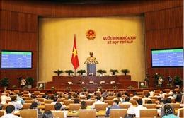 Kỳ họp thứ 6, Quốc hội khóa XIV: Thông cáo báo chí số 4