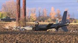 Rơi trực thăng, 4 người thương vong