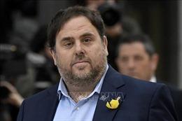 Tòa án Tây Ban Nha ngăn cản cựu thủ lĩnh xứ Catalonia nhậm chức nghị sĩ EP