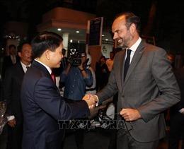 Chủ tịch thành phố Hà Nội hội kiến Thủ tướng Pháp Édouard Philippe