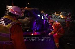 Đâm xe liên hoàn do xe tải hạng nặng mất phanh, ít nhất 59 người thương vong 