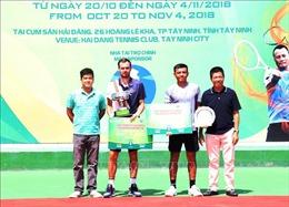Tay vợt người Nga vô địch Giải quần vợt F5 Futures - Hải Đăng Cup 2018