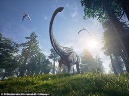 Phát hiện hóa thạch loài khủng long cách đây 110 triệu năm
