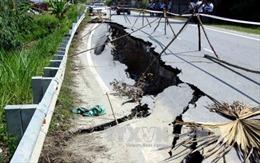 Thiếu máy móc, thiết bị, Dự án nâng cấp Quốc lộ 217 tỉnh Thanh Hóa chậm tiến độ