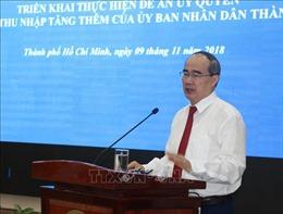 Năm 2018, TP Hồ Chí Minh chi thu nhập tăng thêm tối đa 0,6 lần tiền lương