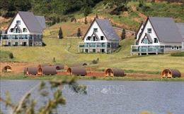 Di chuyển 19 căn nhà gỗ xây dựng trái phép trong khu di tích quốc gia hồ Tuyền Lâm, Đà Lạt