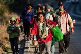 Mexico và Mỹ hợp tác ứng phó với dòng người di cư đang đổ về khu vực biên giới