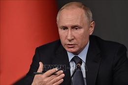 Tổng thống V.Putin sẽ đọc 'Thông điệp hàng năm 2018' vào đầu năm 2019?